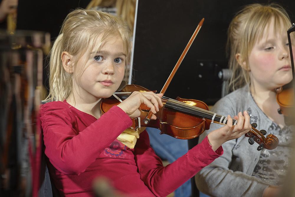 Violin solo 4 - 6 år